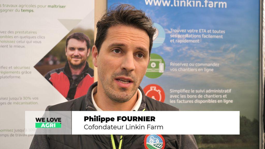 L'espace Start-up, une première ! Linkin Farm connecte les agriculteurs et les entrepreneurs